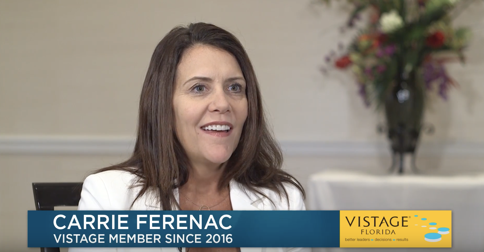 Carrie Ferenac: Vistage Holds Members Accountable